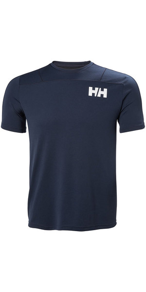 2018 Helly Hansen Lifa Active Light T Shirt Navy 48361