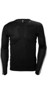Helly Hansen Lifa Crew Neck Base Layer LS Top Black 48300