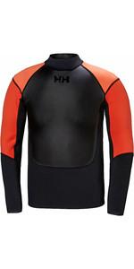 2019 Helly Hansen Mens 2mm Water Wear Neoprene Jacket Black 34016