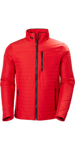 2020 Helly Hansen Mens Crew Insulator Jacket 54344 - Alert Red