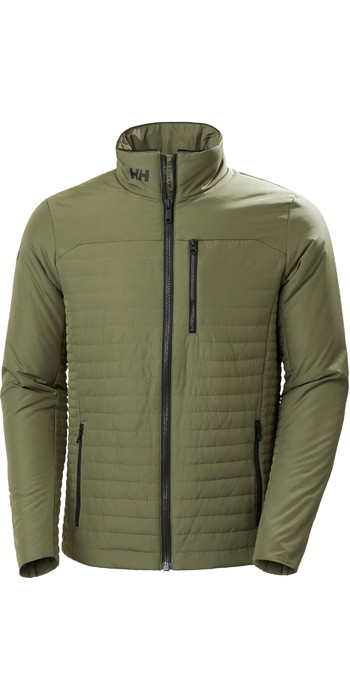2020 Helly Hansen Mens Crew Insulator Jacket 54344 - Lav Green