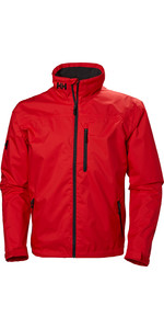 2019 Helly Hansen Crew Jacket Alert Red 30263