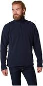 2021 Helly Hansen Mens Daybreaker 1/2 Zip Fleece Navy 50844