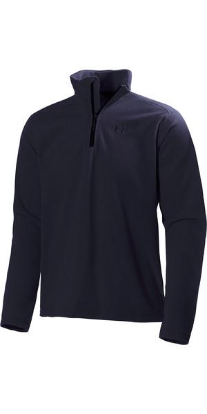2019 Helly Hansen Mens Daybreaker 1/2 Zip Fleece Navy 50844
