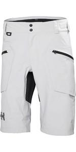 2021 Helly Hansen Mens Foil HT Shorts Grey Fog 34012