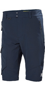 2021 Helly Hansen Mens HP Softshell Shorts Navy 34056