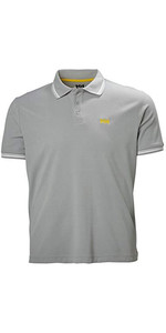 2021 Helly Hansen Mens Kos Polo 34068 - Grey Fog