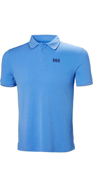 2019 Helly Hansen Mens Kos Polo Cornflower Blue 34068