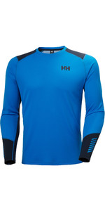 2020 Helly Hansen Mens Lifa Active Crew Top 49389 -  Electric Blue
