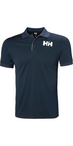 2019 Helly Hansen Mens Lifa Active Light Short Sleeve Polo Navy 49322