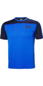 2019 Helly Hansen Mens Lifa Active Light Short Sleeve T-Shirt Olympian Blue 49330