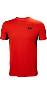 2019 Helly Hansen Mens Lifa Active Mesh T-Shirt Cherry Tomato 49319