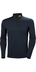 2019 Helly Hansen Mens Lifa Active Mesh 1/2 Zip Top Graphite Blue 49318
