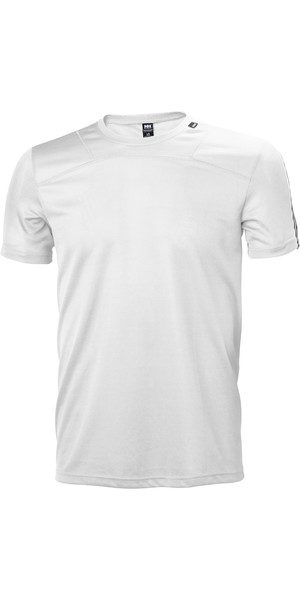 2019 Helly Hansen Mens Lifa T Shirt White 48304
