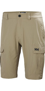 2021 Helly Hansen Mens QD Cargo Shorts Fallen Rock 54154