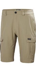 2020 Helly Hansen Mens QD Cargo Shorts Fallen Rock 54154