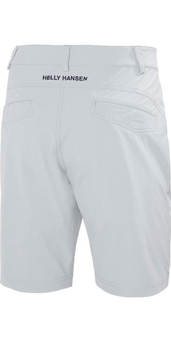 """2021 Helly Hansen Mens QD 10"""" Club Shorts Grey Fog 33933"""