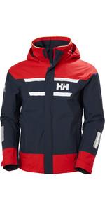 2021 Helly Hansen Mens Salt Inshore Sailing Jacket 30222 - Navy