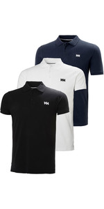 Helly Hansen Mens Transat Polo Shirt Triple Pack - Black / White / Navy