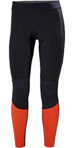 2019 Helly Hansen Mens Water Wear 2mm Neoprene Trousers Black 34017