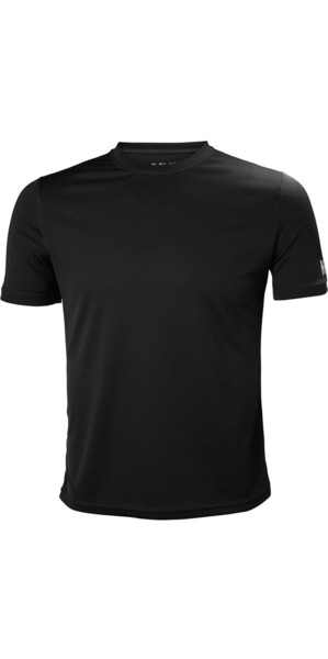 2019 Helly Hansen Tech T Short Sleeve Base Layer Ebony 48363