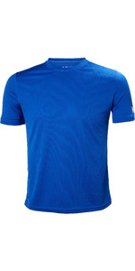 2019 Helly Hansen Tech T Short Sleeve Base Layer Olympian Blue 48363