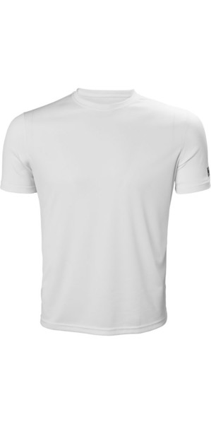 2019 Helly Hansen Tech T Short Sleeve Base Layer White 48363