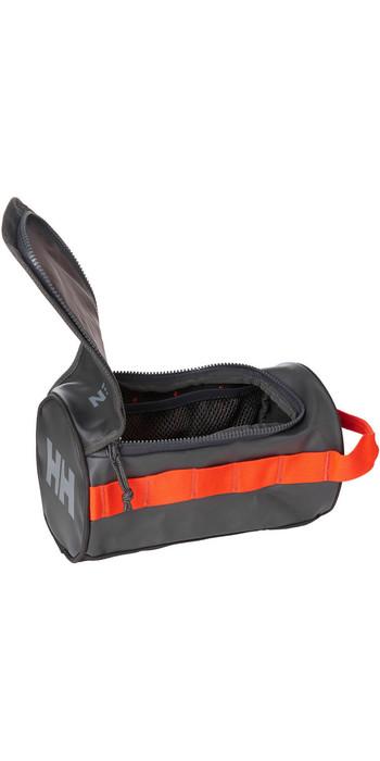 2021 Helly Hansen Wash Bag 2 68007 - Ebony Cherry Tomato