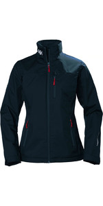 2021 Helly Hansen Womens Crew Jacket 30297 - Navy
