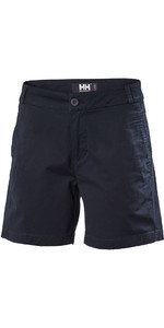 2018 Helly Hansen Womens Crew Shorts Navy 53047