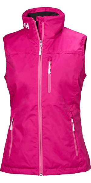 2019 Helly Hansen Womens Crew Vest Dragon Fruit 30290