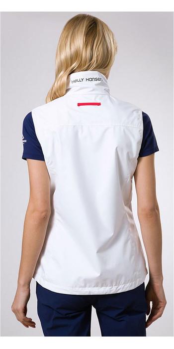 2021 Helly Hansen Womens Crew Vest White 30290