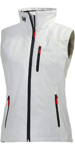 2021 Helly Hansen Womens Crew Vest White 30290