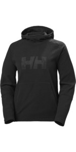 2020 Helly Hansen Womens Daybreaker Logo Hoody 51894 - Black