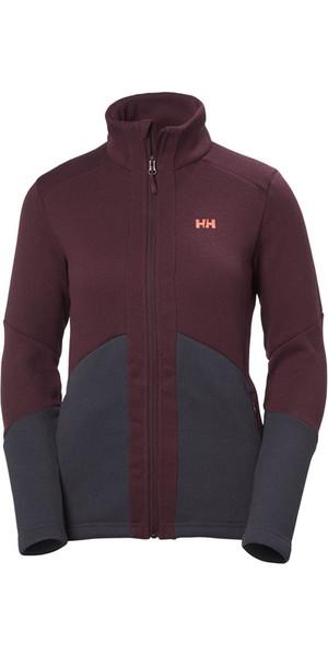 2018 Helly Hansen Womens EQ Black Midlayer Jacket Port 51796