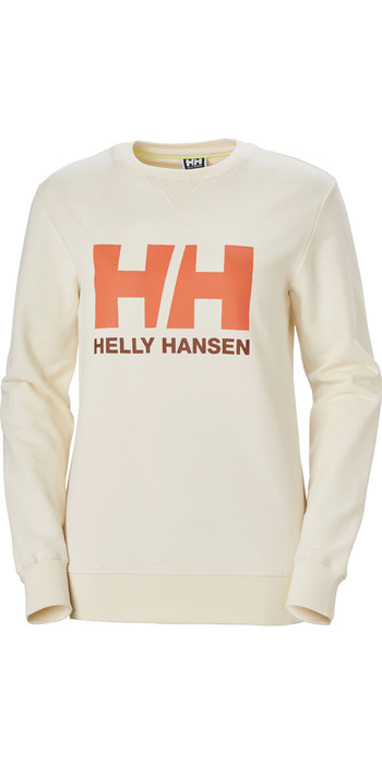 2020 Helly Hansen Womens HH Logo Crew Sweat 34003 - Snow
