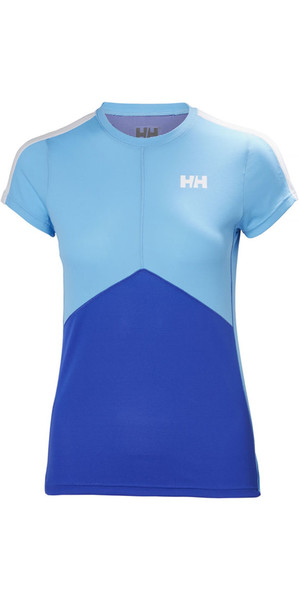 2018 Helly Hansen Womens Lifa Active Light T Shirt Olympian Blue 48370
