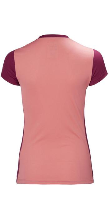 Helly Hansen Womens Lifa Active Light T Shirt Shell Pink 48370