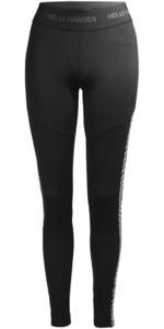 2019 Helly Hansen Womens Lifa Base Layer Trouser Black 48331