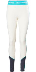 2020 Helly Hansen Womens Lifa Merino Mid Weight Trousers 49380 - Off White