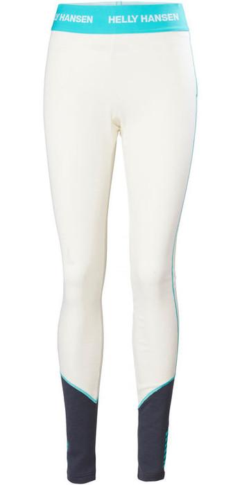 2020 Helly Hansen Womens Lifa Merino Mid Weight Trousers 49380 - Off White