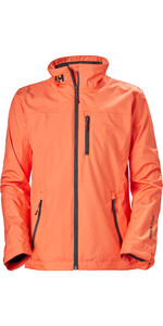 2020 Helly Hansen Womens Mid Layer Crew Jacket 30317 - Fire Cracker
