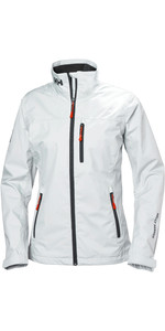 2020 Helly Hansen Womens Mid Layer Crew Jacket White 30317