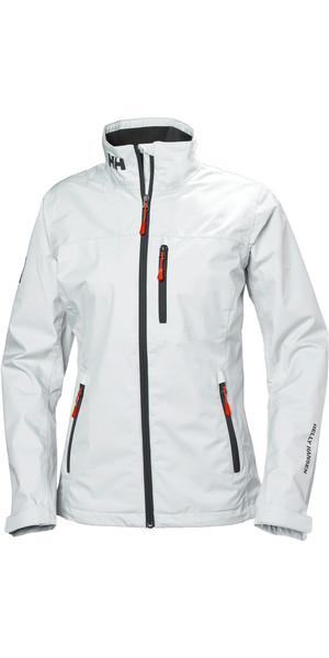 2019 Helly Hansen Womens Mid Layer Crew Jacket White 30317