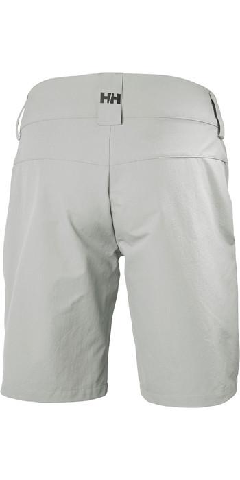 2021 Helly Hansen Womens QD Cargo Shorts Grey Fog 33942
