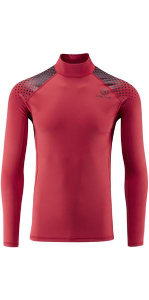 2019 Henri Lloyd New Energy Long Sleeve Rash Vest RED Y30351