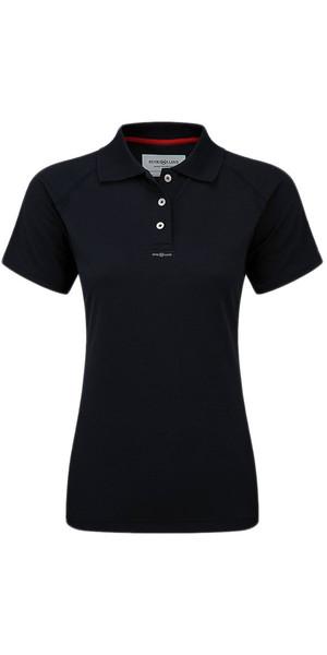 2018 Henri Lloyd Womens Fast Dry Polo T-Shirt in Black Y30279