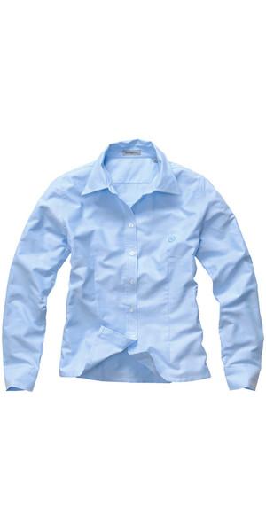 Henri Lloyd Ladies Oxford LS Shirt Ice Blue Y35069