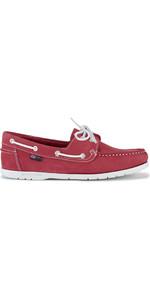 Henri Lloyd Womens Shore Deck Shoe Red / White F94425
