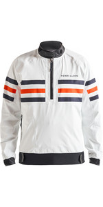 2020 Henri Lloyd Mens Fremantle Stripe Gore-Tex Smock Cloud White P191101003